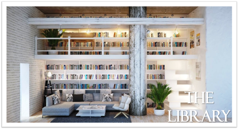 The Library Graphic