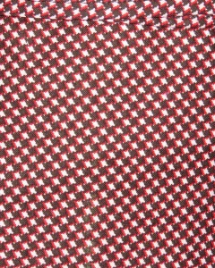 Red and Black Checked Fabric