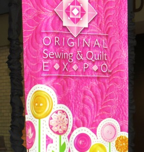 Sewing Expo Sign